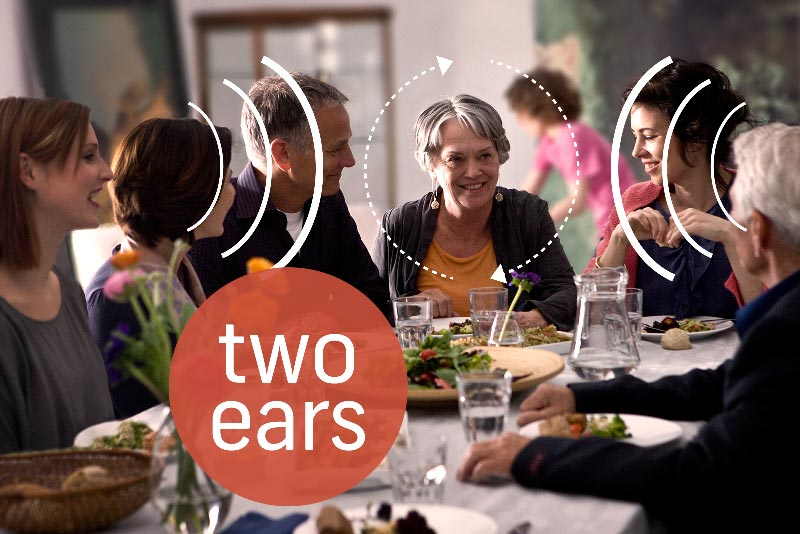 Using both ears is better than relying on one - especially when wearing hearing aids