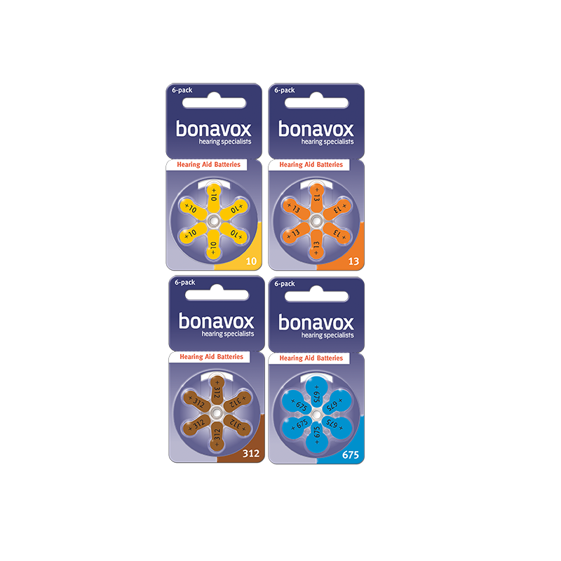 Bonavox batteries can be bought from our Dublin hearing centres