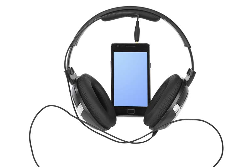 Listening to music through headphones can damage your hearing